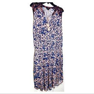 Lucky Brand Dresses - Lucky Brand Boho Tank Sleeve Midi Dress